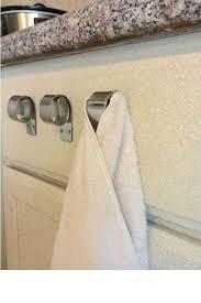 kitchen towel hanger. Kitchen Towel Hanger Photo - 5