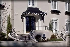 front door awningsResidential Fabric  Metal Door  Window Awnings  Covers