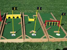Diy Outdoor Games Diy Mini Golf Obstacles Crafts Diy Pinterest Golf Minis And