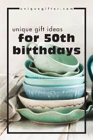 unique birthday gift ideas for 50th birthdays