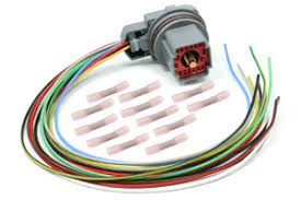 transmission wire harness and harness repair kits by rostra ford 5r55w 2002 2010 external wire harness repair kit connector