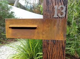 custom metal mailbox. Wonderful Mailbox Lumb Mailbox Intended Custom Metal