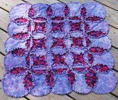 Curved Seams are a Cinch in this Cathedral Windows Rag Quilt ... & Curved Seams are a Cinch in this Cathedral Windows Rag Quilt Pattern Adamdwight.com