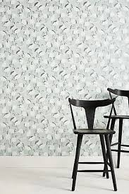 dwell studio furniture. Winter Cranes Wallpaper Dwell Studio Furniture