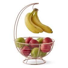 copper banana hanger fruit basket