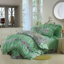 2039 best 100%cotton 4pcs bedding set images on Pinterest   3/4 ... & Pure cotton Twill Printed four pieces bedding sets,Korean princess bedding  sheet sets,quilt Adamdwight.com