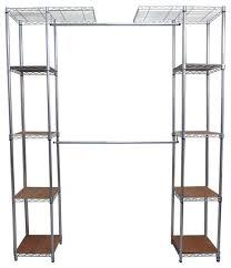 trinity ecostorage expandable closet organizer chrome