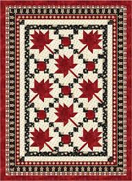 Maple Leaf Parade - Throw Size Quilt Kit | Quilts | Pinterest ... & Maple Leaf Parade - Throw Size Quilt Kit - Sew Sisters Online Store  featuring quilt fabric, Block-of-the-Month programs, Quilt Kits, Patterns,  Books and ... Adamdwight.com