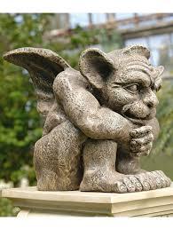 emmett gargoyle statue resin garden statue