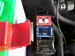 for the fusebox attached to red battery terminal toyota here s the piece i m talking about what is it called thanks for your help