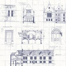 architecture blueprints wallpaper. Brewster Estcourt White Blueprint Wallpaper Architecture Blueprints
