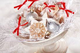 Small gingerbread gifts for guests for Christmas dinner | Stock Photo |  Colourbox