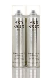 image of tigi tigi bed head hard head hairspray set of 2