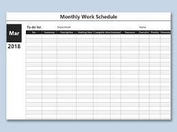 Work Schedule Spreadsheet Template Wps Template Free Download Writer Presentation
