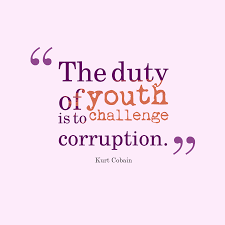 Kurt Cobain Quote About Corruption
