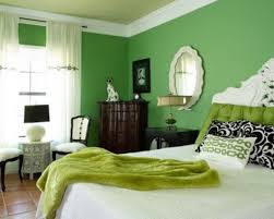 Green Bedroom Ideas Colors Moods White Bed