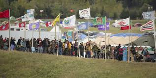 Standing Rock protesters hold out against extraordinary police.