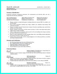 Sample Resume Construction Project Manager Construction Project Manager Resume Sample Iamfree Club