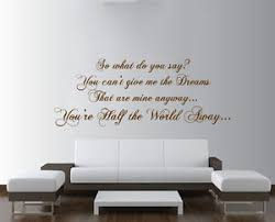 world away furniture. Image Is Loading OASIS-Half-the-World-Away-Lyrics-Large-Wall- World Away Furniture A