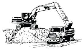 Coloring Pages Trucks Semi Truck Coloring Pages Semi Truck Coloring