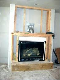 cost to install fireplace gas installation installing logs ventless how much napoleon