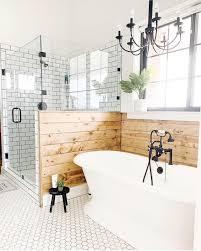 Black White bathroom | Bathrooms in 2019 | Home spa, House design ...