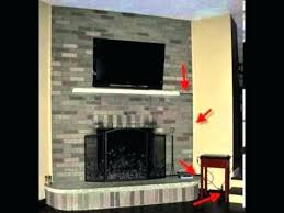 mounting tv on brick fireplace how to mount a above a fireplace mounting over fireplace mantel