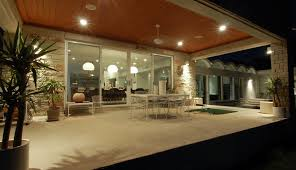 patio cover lighting ideas. Inexpensive Patio Cover Ideas Modern With Ceiling Lighting Concrete Paving. Image By: Cornerstone Architects