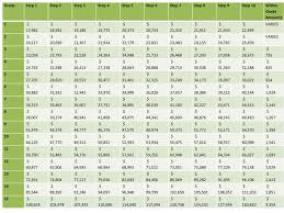 Gs Pay Chart Solid Graphikworks Co Throughout Payroll