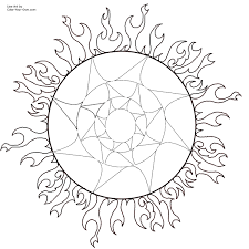 Small Picture Adult coloring page sun Sun Coloring Page For Kids 2925 Free Sun