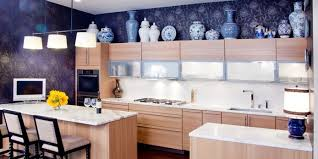 Design Ideas For The Space Above Kitchen Cabinets   Decorating Above  Kitchen Cabinets