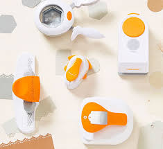 Flower Paper Punch Tool Paper Punches For Crafting Hand Lever Shapes Designs Fiskars
