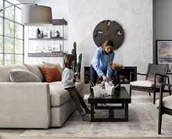 Crate And Barrel Living Room Design A Family Friendly Living Room Crate And Barrel Blog