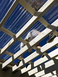 learn how to install the clear pergola roof the panels are so easy to work