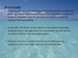 Common Law Essay Equity Common Law Essay