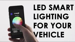 Type S Plug & <b>Glow</b> - <b>LED Smart</b> Lighting For Your Vehicle - YouTube