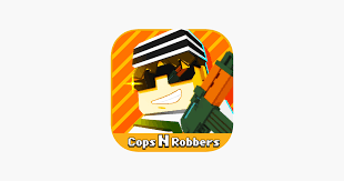 cops n robbers fps 3d pixel on the app