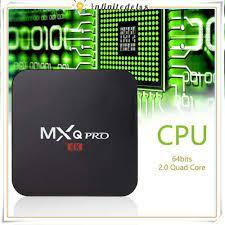 Hộp chuyển tivi thường thành tivi thông minh MXQ-Pro RK3229 Ultra HD 4K với  bộ nhớ 1GB RAM 8GB ROM