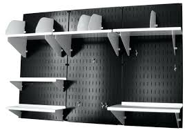 wall mounted home office. Wall Mounted Office Storage Systems Control Black Panel Home Organizer Kit 10ofc300b E