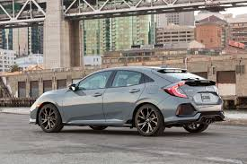 2018 honda hatchback sport. plain sport side view of civic hatchback inside 2018 honda sport