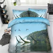 jf 571 the loch bedding for kids boys girls dino duvet cover set full single bed sheets teens queen linens king quilt cover sets cotton comforter sets queen