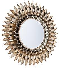roxbury round decorative wall mirror