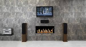the first point to remember is that the literature supplied with televisions normally advises that the tv is never fitted above a heat source