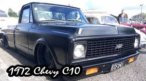 All Chevy chevy c-10 : 1972 Chevy C10 Pickup Truck - Slammed and Bagged - YouTube