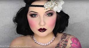 flapper makeup tutorial