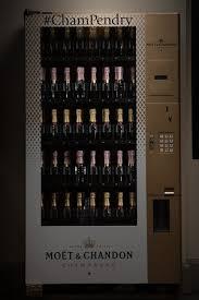 Moet Champagne Vending Machine Enchanting Moët Chandon Champagne Vending Machine The First Of Its Kind In