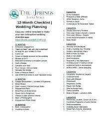 Wedding Planning Timeline Template Excel Example Day Skincense Co