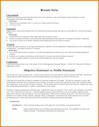 9 General Resume Objective Examples Resume Type