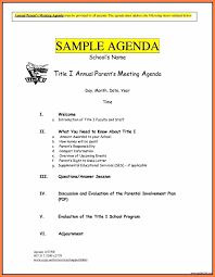 Agenda Outlines Templates 003 Free Business Meeting Agenda Template Word Impressive