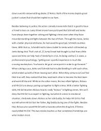 english essay comparison action comedy movies 3 down